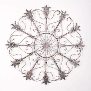Metalen Bloemen wanddecoratie - Era