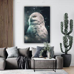 Owl poster botanisch jungle dieren