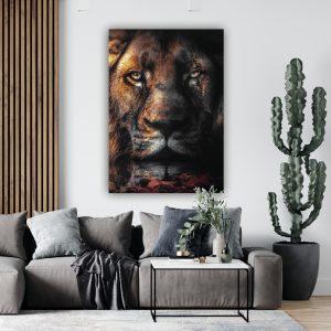 Scar Lion poster botanisch jungle dieren