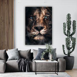 Tiger poster botanisch jungle dieren