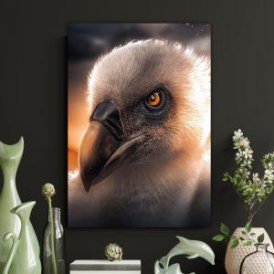 Vulture poster botanisch jungle dieren