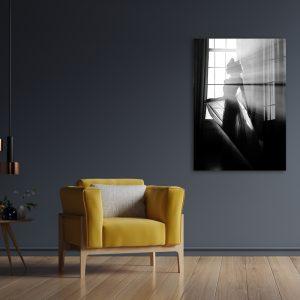 Sun Dress zwart wit poster