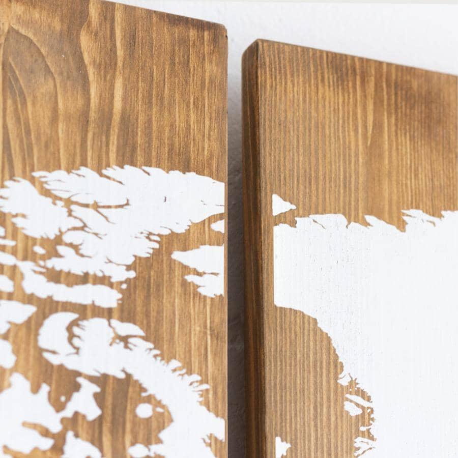 Miss Wood - Woody Map Houten Wereldkaart