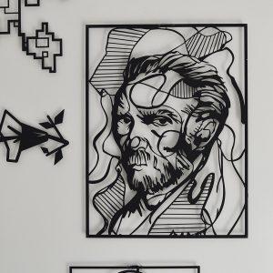 Metalen wanddecoratie - Vincent van Gogh