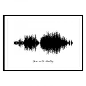 Geluidsgolf (soundwave) poster 1