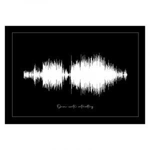 Geluidsgolf (soundwave) poster 3