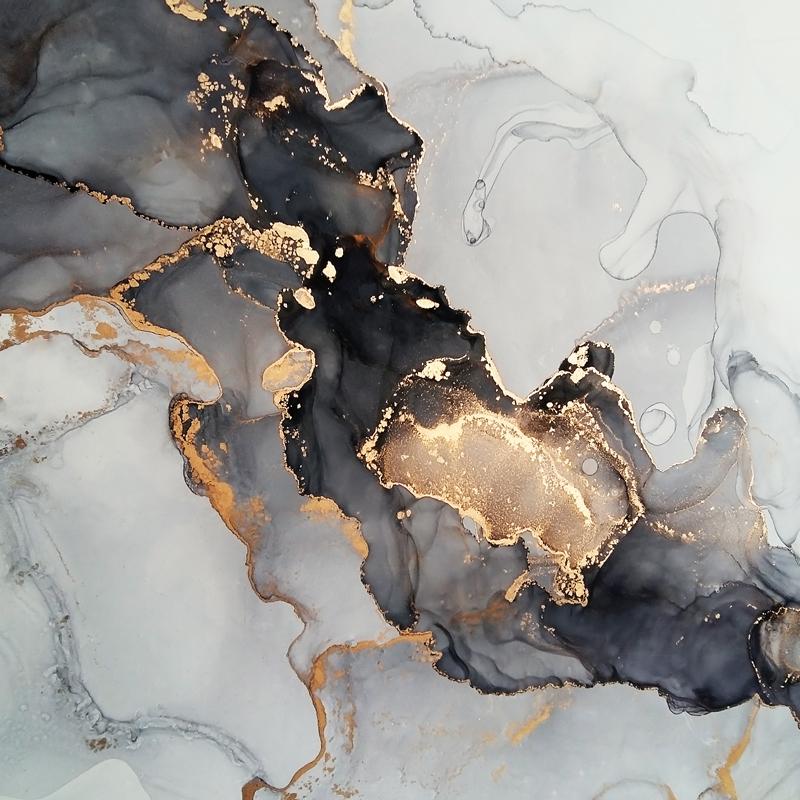 Marble (marmer) Dark Grey texture poster