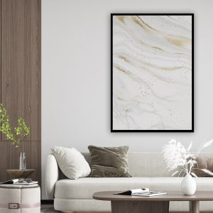Marble (marmer) Grey texture poster
