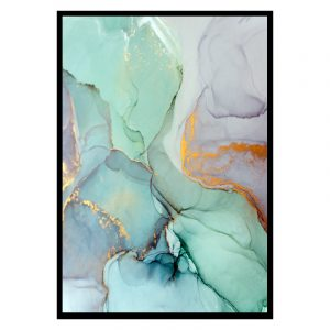 Marble (marmer) Multi texture poster