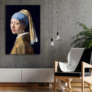 Meisje met de Parel (Johannes Vermeer) poster