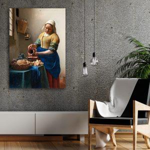 Het Melkmeisje (Johannes Vermeer) poster