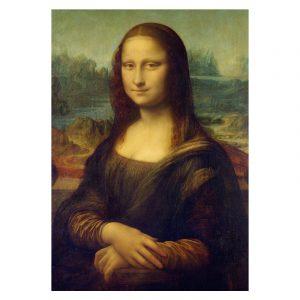 Aluminium Dibond Plexiglas Mona Lisa poster