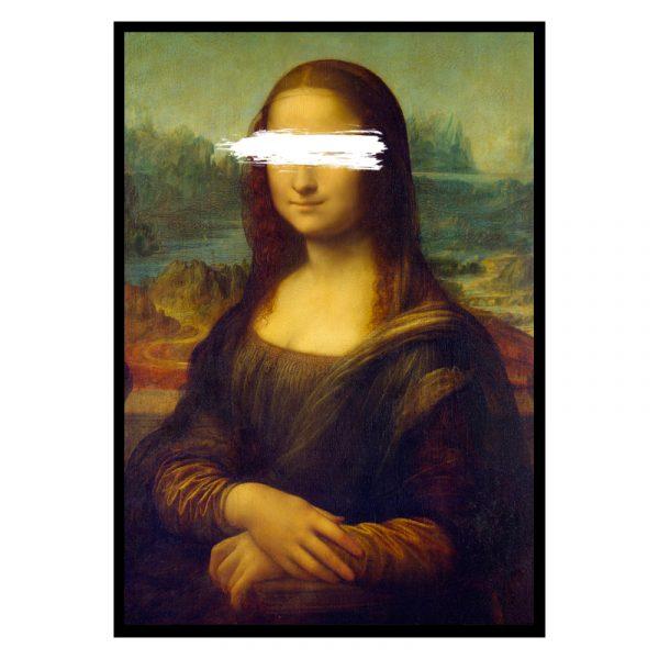 Mona Lisa Unknown (Leonardo da Vinci) poster