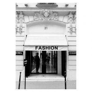 Aluminium Dibond Plexiglas Fashion Store poster