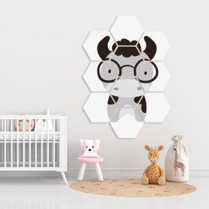 Hexagon - Grey Cowl kindercollage