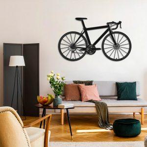 Metalen wanddecoratie - Big Bike